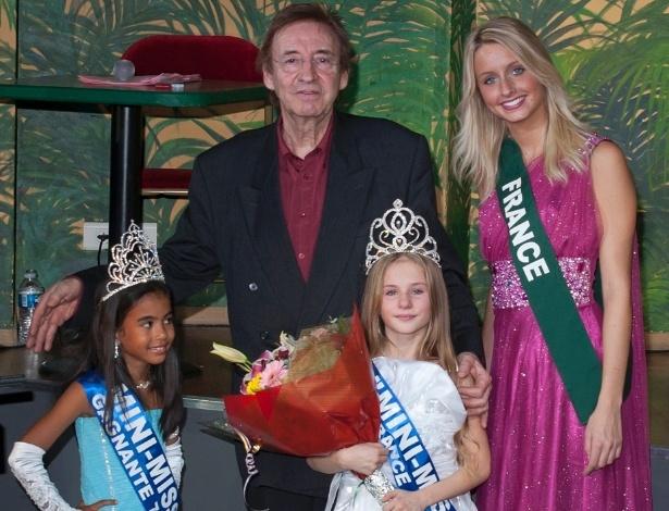 """O concurso """"Mini-Miss França"""" proíbe que as meninas usem maquiagem, salto alto e roupas """"inapropriadas"""" - Divulgação"""