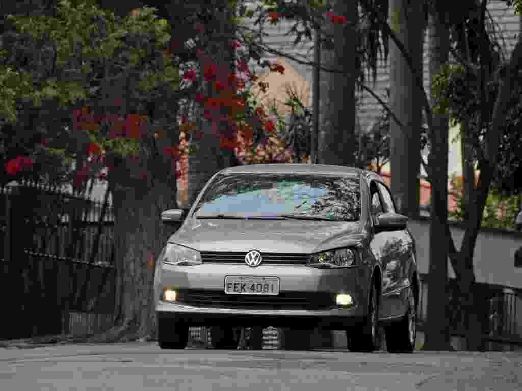 Volkswagen Voyage 1.6 I-Motion 2013 - Murilo Góes/UOL