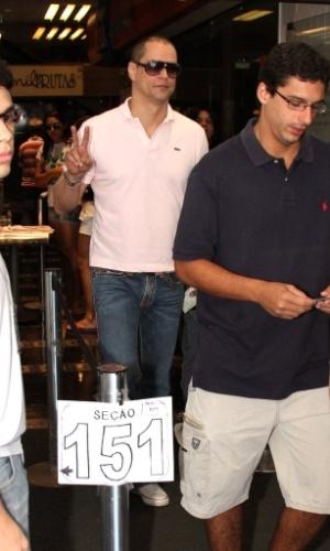 Marcelo Antony chega para votar no Rio de Janeiro. (7/10/2012)