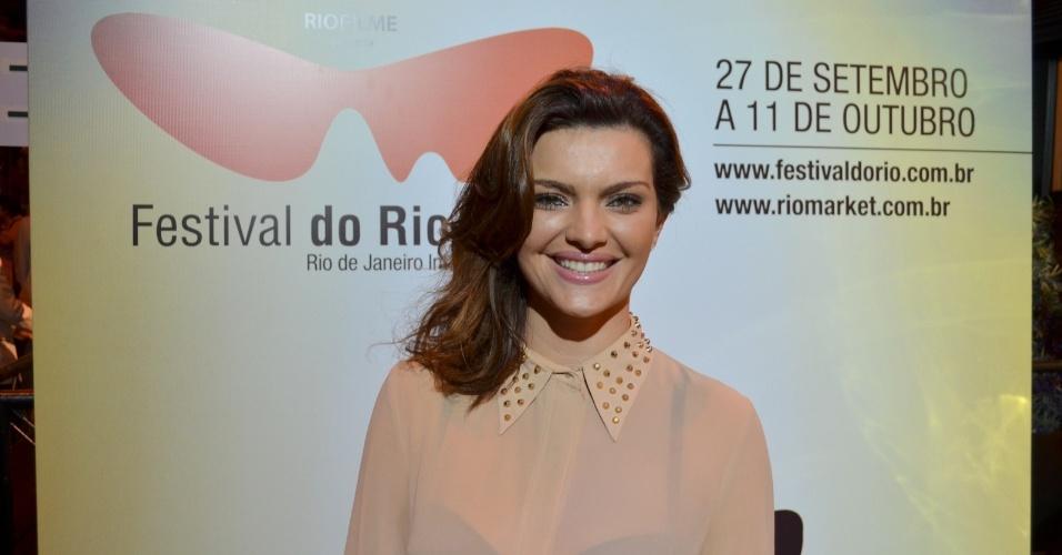 A atriz Mayana Neiva durante o Festival do Rio 2012 (8/10/12)