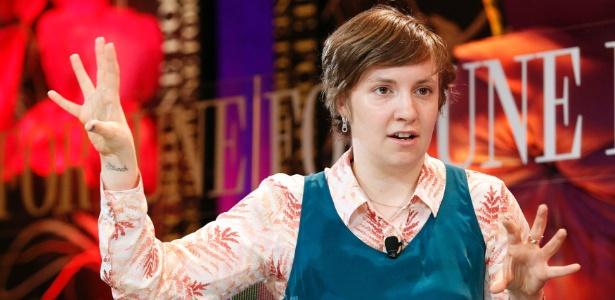 """Atriz, roteirista e diretora de """"Girls"""" dá entrevista na California (2/10/12) - Reuters"""