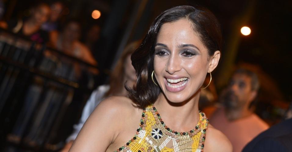 Camila Pitanga comparece ao Festival do Rio 2012 nesta segunda-feira (8/10/12)