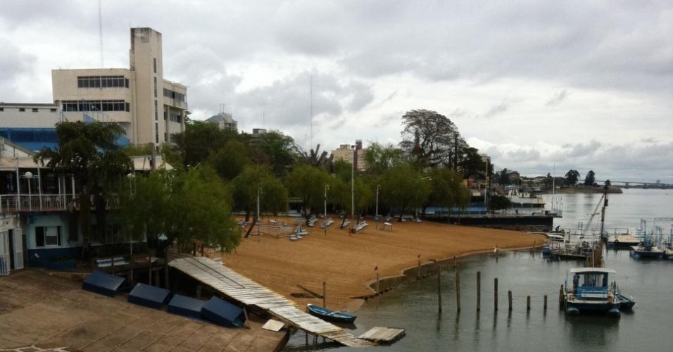 Clube às margens do rio Paraná que era usado por Maradona para organizar churrascos em Corrientes