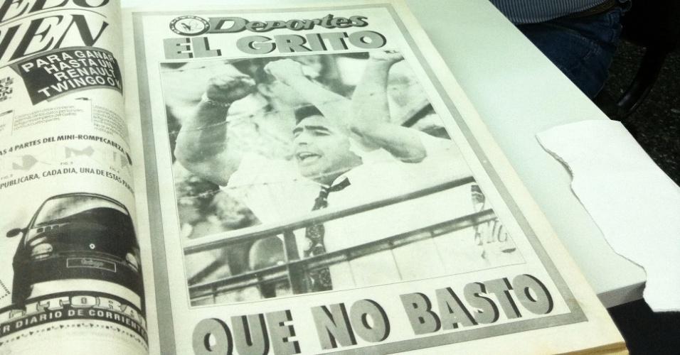 Jornalista Roberto Carapá acompanhou a aventura de Maradona em Corrientes