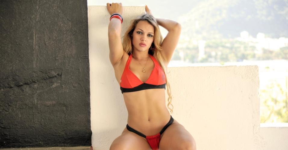 Laisiane Favarato, a bela do Flamengo
