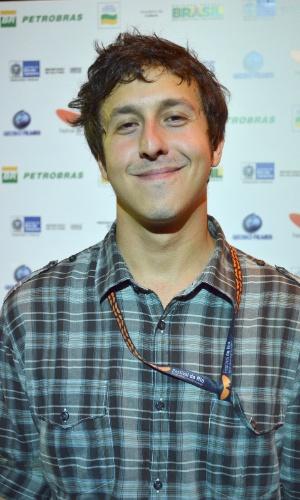 """O diretor Raphael Vieira, de """"Dores de Amores"""", comparece o Festival do Rio 2012 (8/10/12)"""