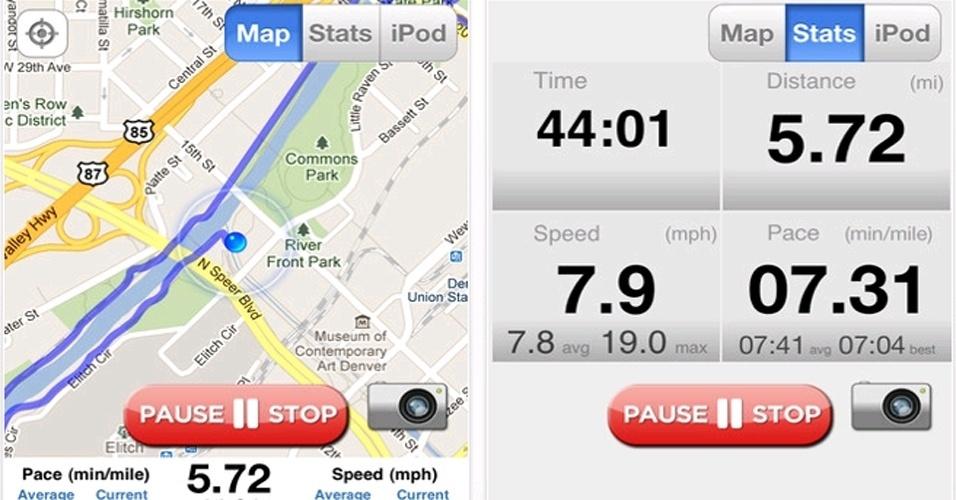 """Para quem opta pelo uso da bicicleta, existem aplicativos que ajudam a gerenciar o desempenho, controlando a velocidade, distância percorrida ou quantidade de calorias queimadas no exercício. Clique em """"Mais"""" e veja algumas sugestões desses apps"""