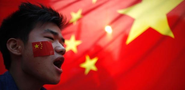 Na China, protestos contra o Japão aumentam com o duelo político que opõe os dois países - Carlos Barria/Reuters
