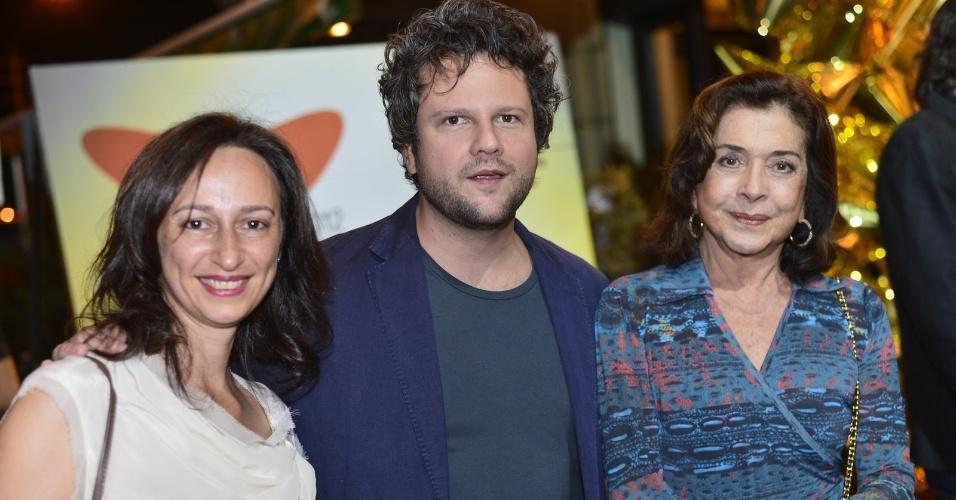 Selton Mello e Betty Faria estiveram no tapete vermelho do Festival do Rio 2012 (8/10/12)