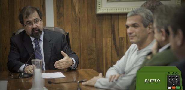 Cunha foi alvo de ataques da organizada em email reproduzido pelo programa do ST - Rodrigo Capote/Folhapress