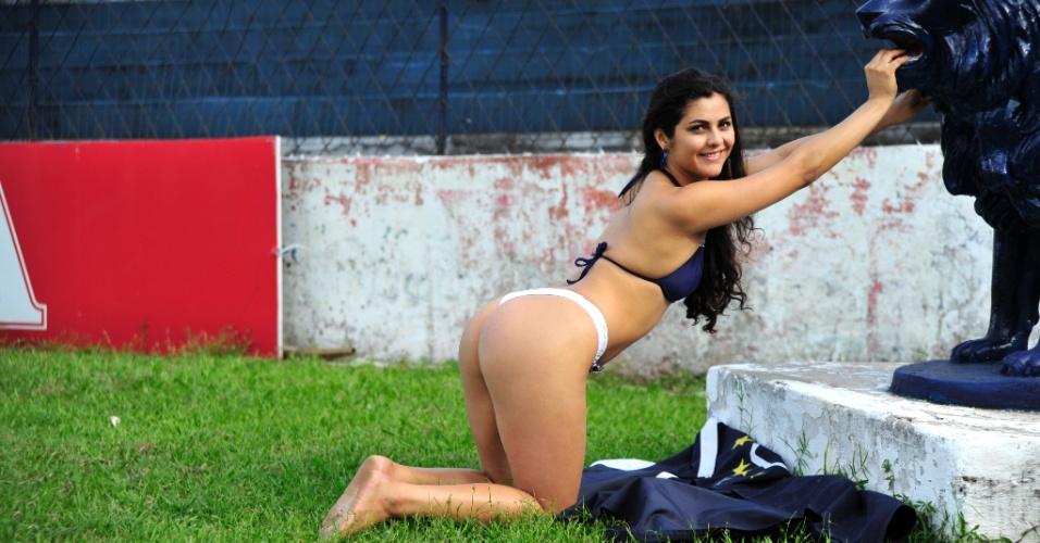 Andréa Ramos, a bela do Remo