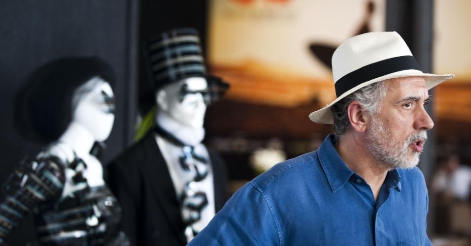 """Diretor espanhol Fernando Trueba apresenta o filme """"O Artista e a Modelo"""", no Festival do Rio (8/10/12)"""