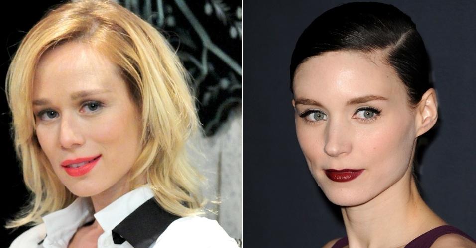 Duelo Risca Marcada Mariana Ximenes e Rooney Mara