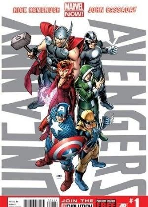 """""""Ucanny Avengers"""", equipe que mistura membros de Vingadores e X-Men, é primeiro quadrinho da série """"Now!"""" da Marvel - Reprodução"""