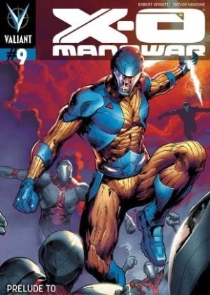 """Capa do prelúdio da HQ """"Manowar X-O"""", que será lançada em janeiro de 2013 (10/10/12) - Divulgação/Valiant Comics"""