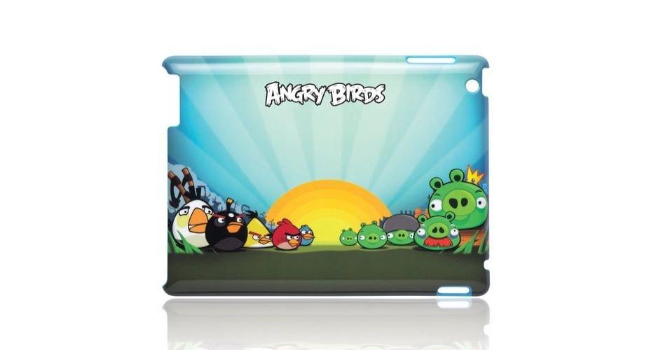 Capa para iPad 2 do jogo Angry Birds por US$ 18.18 (cerca de R$ 36) na loja Amazon