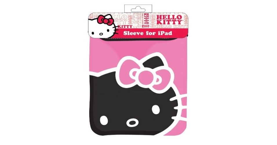 Capa para iPad da personagem Hello Kitty na loja Amazon por US$ 15.98 (cerca de R$ 32)