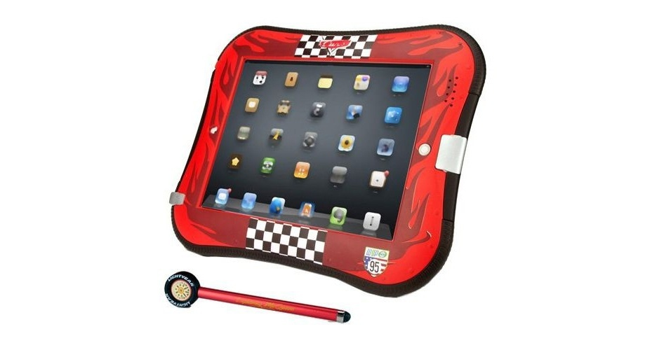 """Capa para iPad do filme """"Carros"""" da Disney, por US$ 46,83 (cerca de R$ 90) na loja Amazon"""