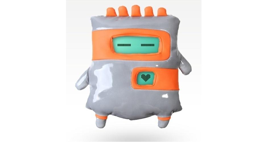 Da fabricante Toyota Creatures, a capa para iPad Robotto transforma o gadget em um monstrinho. Por US$ 80 (cerca de R$ 160) na loja da marca