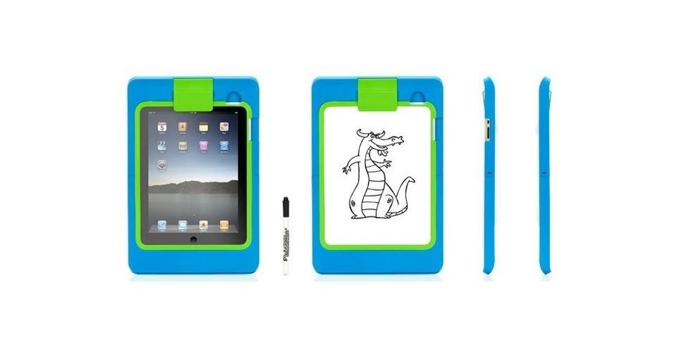 Em parceria com um aplicativo da marca, a capa LightBoard transforma o iPad em uma lugar ótimo para as crianças desenharem. Por US$ 14.9 (cerca de R$ 30) na loja Griffin