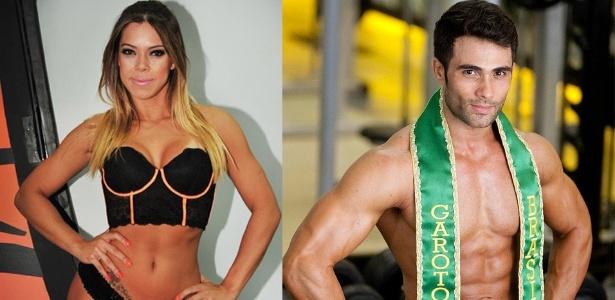 Priscila Saravalli e Júnior Moreno, vencedores em outras edições, apresentarão a nova etapa do concurso - Divulgação/Leonardo Soares/UOL