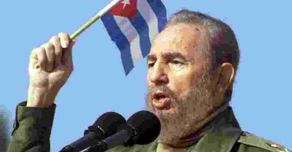 Governante de Cuba de 1976 a 2008, Fidel Castro foi um dos principais mentores da Revolução Cubana de 1959; conheça a trajetória do ex-líder, desde sua infância no meio rural - Rafael Perez/Reuters