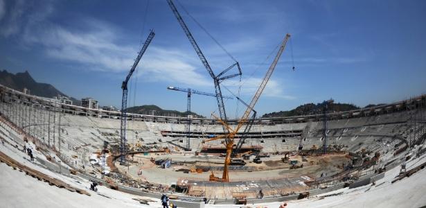 10.out.2012 - A Delta, do empresário Fernando Cavendish, fez parte do consórcio que tocou as obras no Maracanã. A reforma do estádio custou mais de R$ 1 bilhão