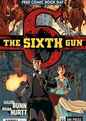 "Capa da HQ ""The Sixth Gun"", da editora Oni Press - Reprodução"