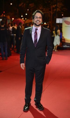 Lúcio Mauro Filho prestigiou a cerimônia de premiação do Festival do Rio no Cine Odeon BR, centro do Rio (11/10/12)