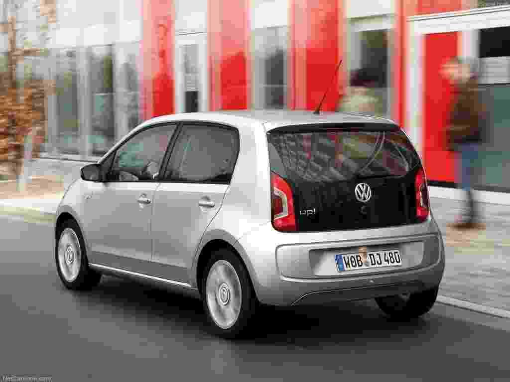 Na imagem, o Volkswagen Up alemão - Divulgação