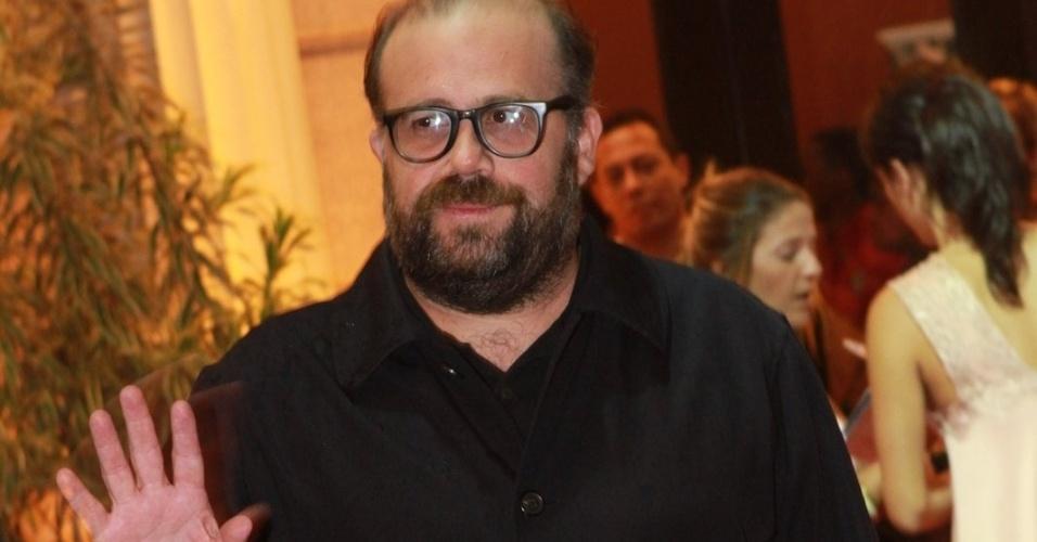 O ator Otávio Muller prestigiou a cerimônia de premiação do Festival do Rio no Cine Odeon BR, centro do Rio (11/10/12)