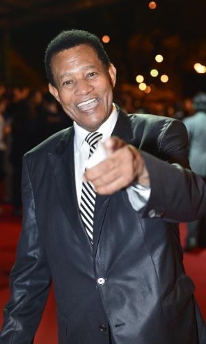 O cantor Jair Rodrigues prestigiou a cerimônia de premiação do Festival do Rio no Cine Odeon BR, centro do Rio (11/10/12)