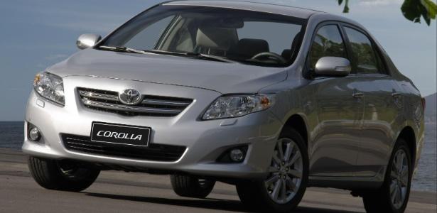 Recall afeta Corolla fabricado entre 1º de setembro de 2006 e 19 de dezembro de 2008 - Divulgação