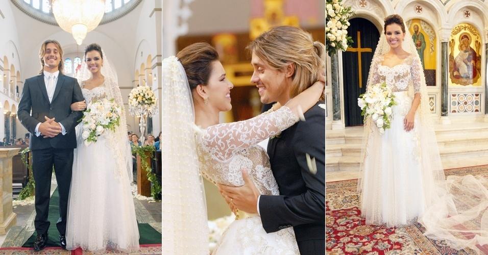 Casamento de Drica (Mariana Rios) e Pepeu (Ivan Mendes) na novela