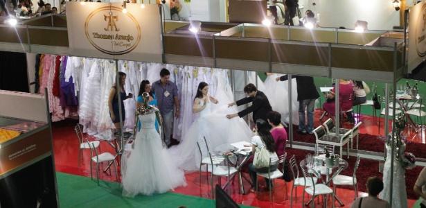 Edição de outubro passado da Expo Noivas & Festas, realizada no Expo Center Norte (SP)  - Fernando Donasci/UOL