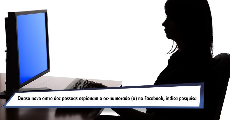 Quase nove em dez pessoas espiona o ex-namorado (a) no Facebook, indica pesquisa