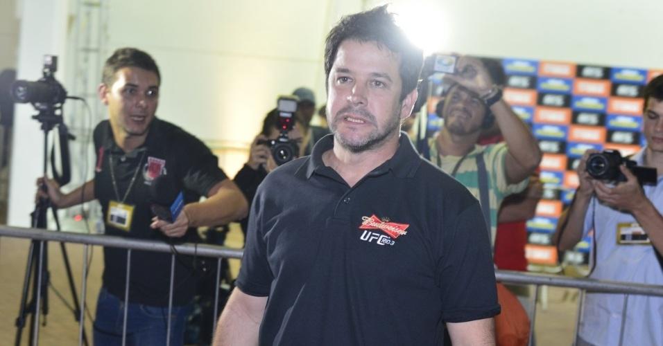 """Murilo Benício prestigiou o  """"UFC Rio III"""", que aconteceu no HSBC Arena, na Barra da Tijuca, na Zona Oeste do Rio (13/10/12)"""