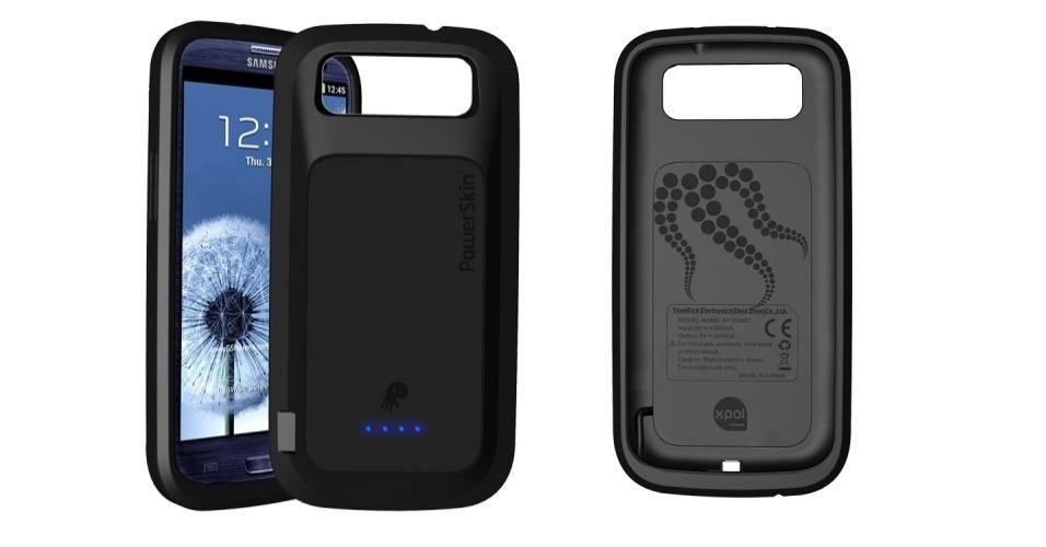 A capa para o Samsung Galaxy S III chamada de