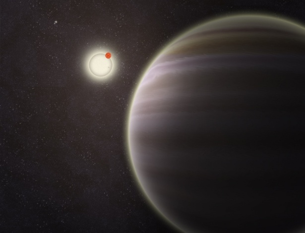 O planeta foi batizado de PH1, em homenagem ao site Planethunters