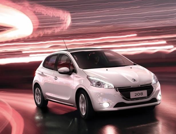 Imagens da Peugeot indicam que 208 feito no Estado do Rio estará alinhado ao europeu - Divulgação