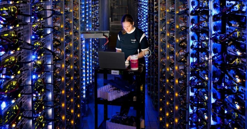 Google mostra interior de seus data centers nos Estados Unidos
