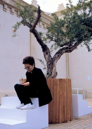 "Yoko Ono inaugura o projeto ""Wish Tree for Hope"" - YokoOno.com"