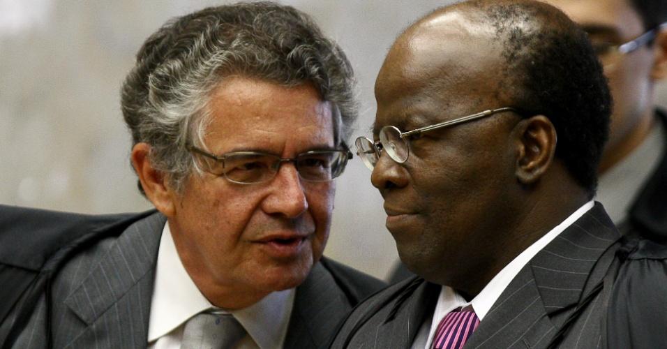 """Barbosa não se mostrou """"afeito ao diálogo"""" na presidência, diz Marco Aurélio"""