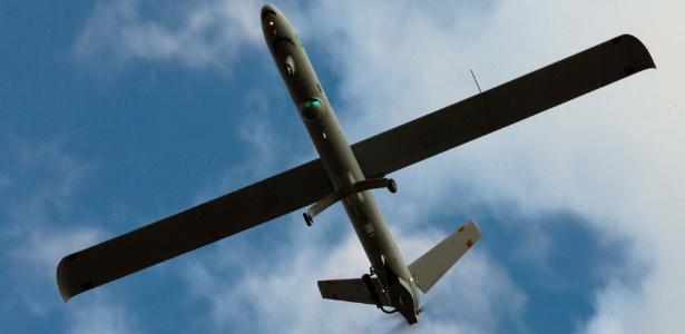 Aeronáutica utiliza drones israelenses sem armas em missões de inteligência (18.out.2012) - Silva Lopes/Agência Força Aérea