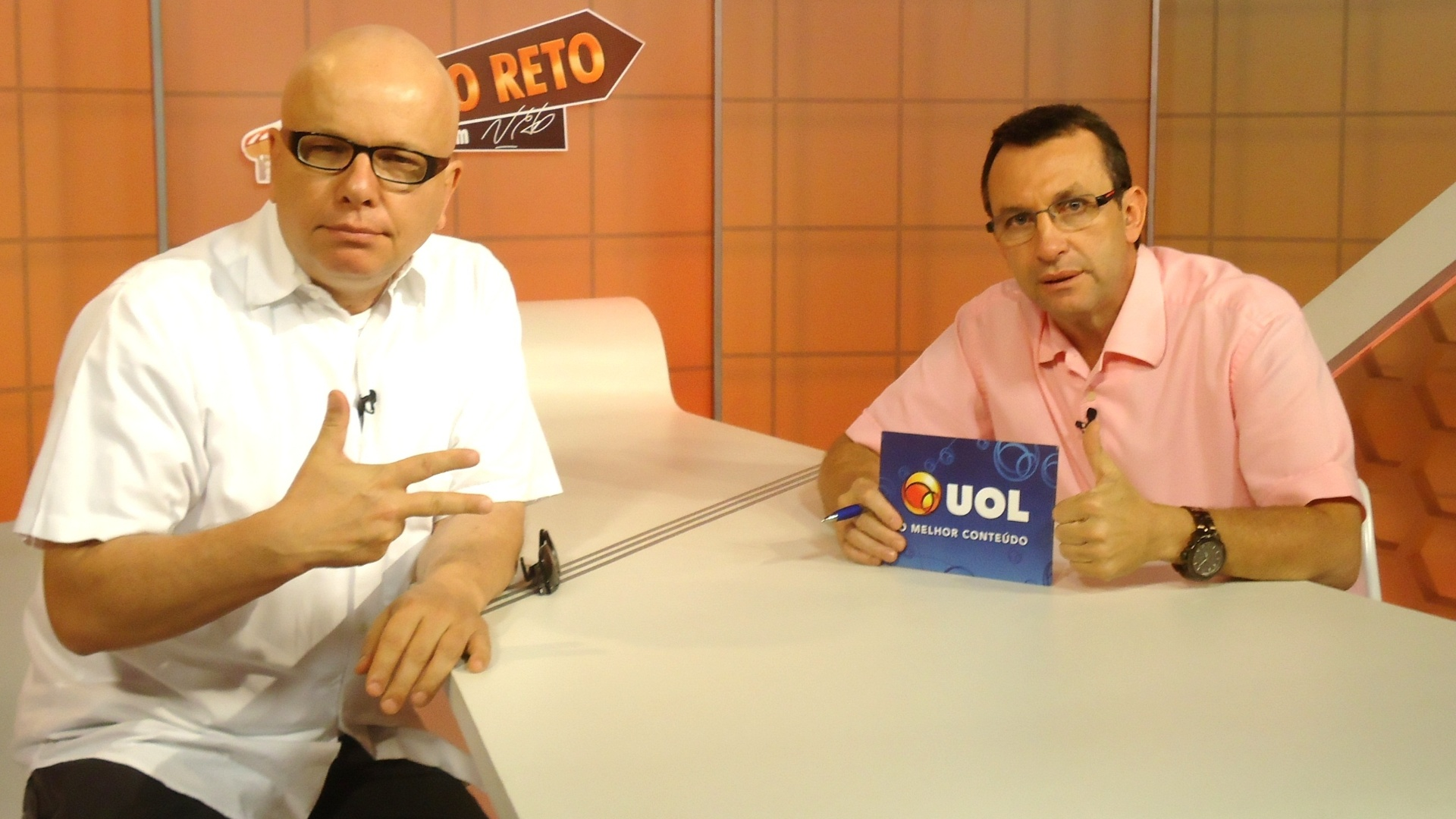 Santista Marcelo Tas, apresentador do