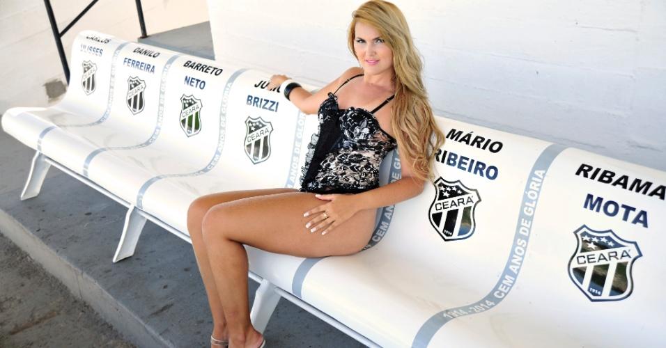 Patricia Busgaib, a bela do Ceará