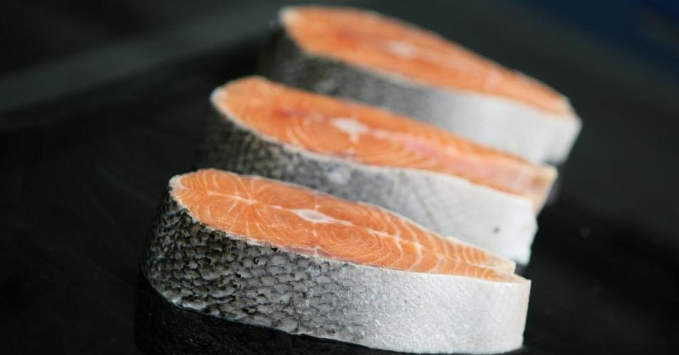 postas de salmão