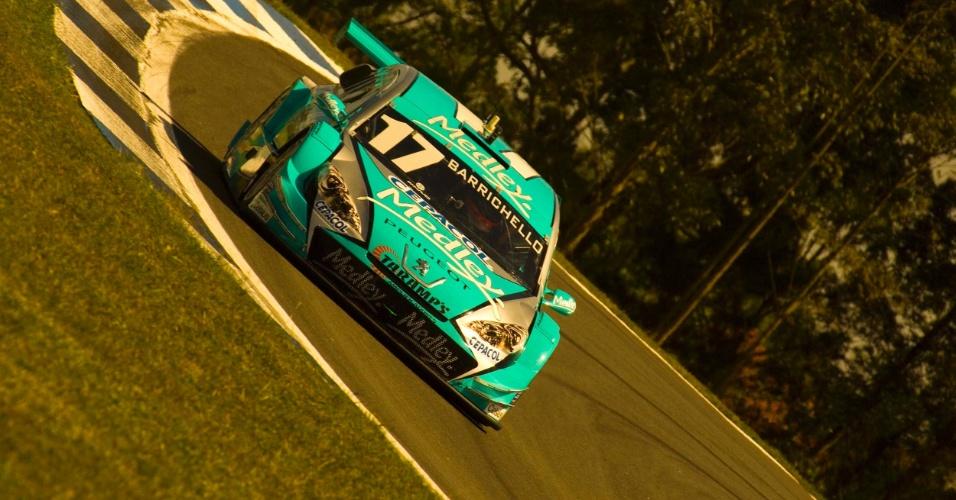 Rubens Barrichello participa de sessão extra de treinos para a etapa de Curitiba da Stock Car