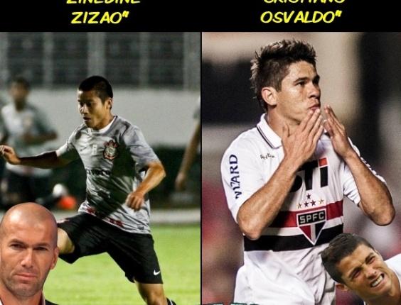 Corneta FC: Zinedine Zizao ou Cristiano Osvaldo? Quem foi o destaque fanfarrão da rodada?