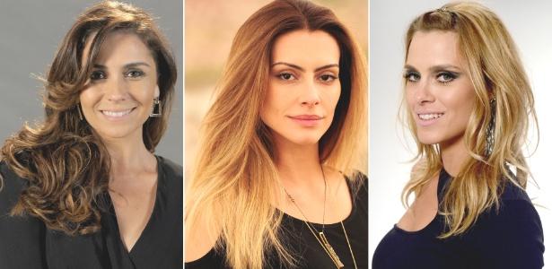 """Giovanna Antonelli, Cléo Pires e Carolina Dieckmann exibem novas cores e cortes em """"Salve Jorge"""" - Rede Globo/Divulgação"""